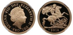 World Coins - Elizabeth II 2018 proof Two-Pounds PF70 ULTRA CAMEO