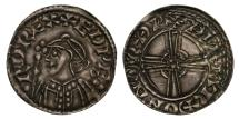 World Coins - Edward the Confessor Penny Norwich, expanding cross heavy