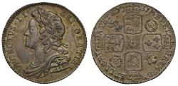 World Coins - George II 1731 Sixpence, roses and plumes