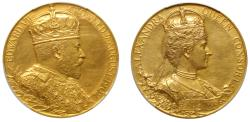 World Coins - Coronation of Edward VII, 1902