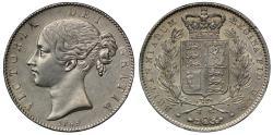 World Coins - Victoria 1845 Crown