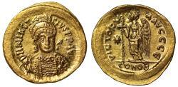 Anastasius, Gold Solidus.