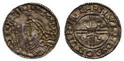 World Coins - Harthacanute Penny, full name, arm and sceptre Lincoln