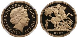 World Coins - Elizabeth II 2007 proof Two-Pounds PF69 ULTRA CAMEO
