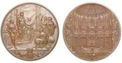 World Coins - New Council Chamber of the Guildhall, 1884.