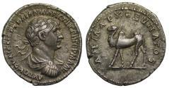 Ancient Coins - Trajan, Silver Drachm, Arabia