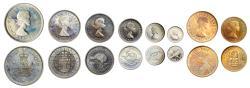 World Coins - New Zealand Proof Set 1953