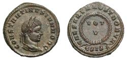 Ancient Coins - Constantine II, Follis, ESIS*.