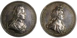 World Coins - Princesses Matilda and Sophia, Hanoverian Succession, 1701