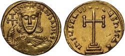 Nicephorus I gold Solidus, Constantinople