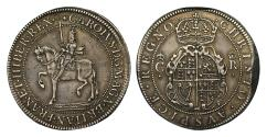 World Coins - Charles I Crown, Nicholas Briot's first milled issue