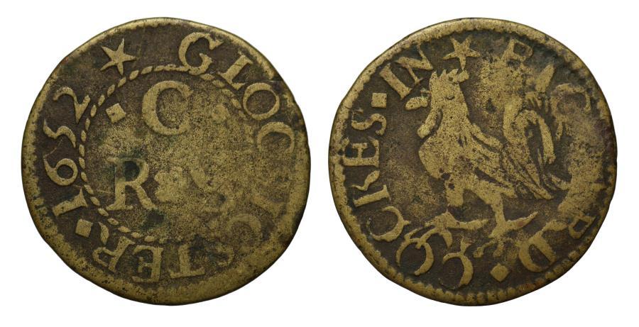 World Coins - Richard Cockes, Gloucester, 1652 Token