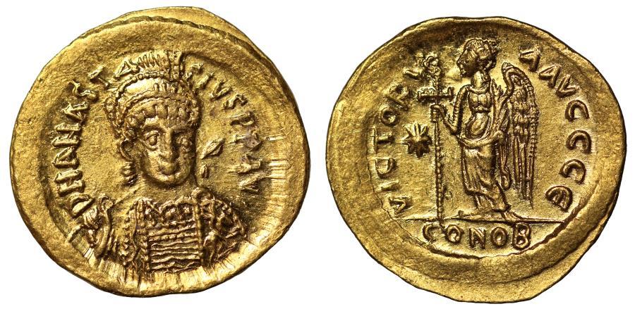 anastasius coins