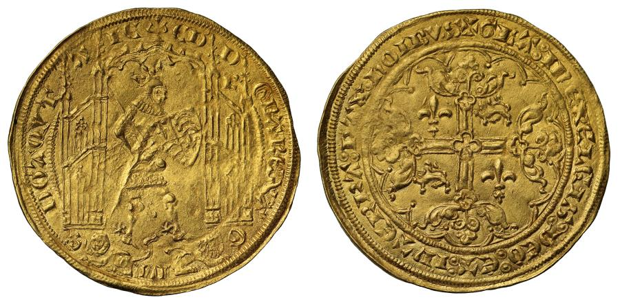 World Coins - Anglo-Gallic, Edward III Guyennois d'Or