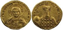 Constantine VII, Gold Solidus