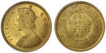 World Coins - Mohur, 1862