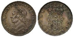 World Coins - Oliver Cromwell 1658 Halfcrown