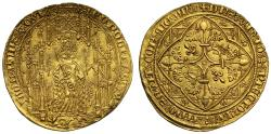 World Coins - Anglo-Gallic, Edward the Black Prince Pavillon d'Or, La Rochelle