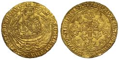 World Coins - Henry VI Noble, Annulet Issue, Calais mint, ex Pulham Hoard sold 1985, lot 85