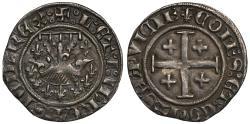 World Coins - Provence, Louis & Jeanne (1349-62) Demi-Gros