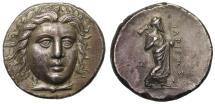 Ancient Coins - Satraps of Caria, Hidrieus, Silver Tetradrachm