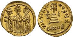 Heraclonas gold Solidus, Constantinople