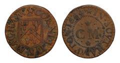 World Coins - Cornelius Macham, Southhampton, Hampshire, 1664 Farthing, grocer