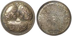 World Coins - German religious medal, c.1780.