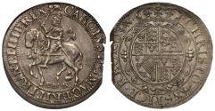 World Coins - Charles I Halfcrown York mint, type 7, ex Brian Dawson Collection