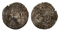 World Coins - Charles II 3rd hammered issue Twopence