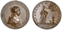 World Coins - Queen Charlotte, Coronation, 1761.