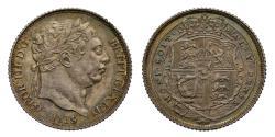 World Coins - George III 1819/8 Sixpence