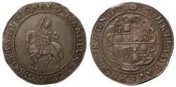 World Coins - Charles I Crown, Gp IV, Tower mint under Parliament, mm eye