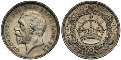 World Coins - George V 1929 Wreath Crown