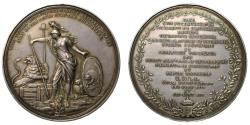World Coins - Peace of Utrecht 1713, silver medal by D. Wijs.
