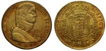 World Coins - Chile, 1810 8-Escudos Santiago mint
