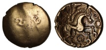 Ancient Coins - North Thames Celtic gold Stater