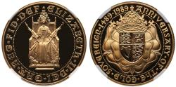 Ancient Coins - Elizabeth II 1989 proof Two-Pounds PF69 ULTRA CAMEO
