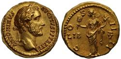 Ancient Coins - Antoninus Pius, Gold Aureus