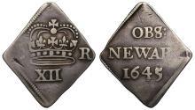 World Coins - Charles I 1645 Newark Shilling