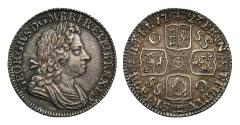 World Coins - George I 1723 SSC Shilling first bust