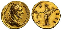 Ancient Coins - Antoninus Pius, Gold Aureus, Mint of Rome, NGC MS