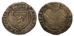 World Coins - Scotland, James VI 1603 Quarter Merk, extremely rare date