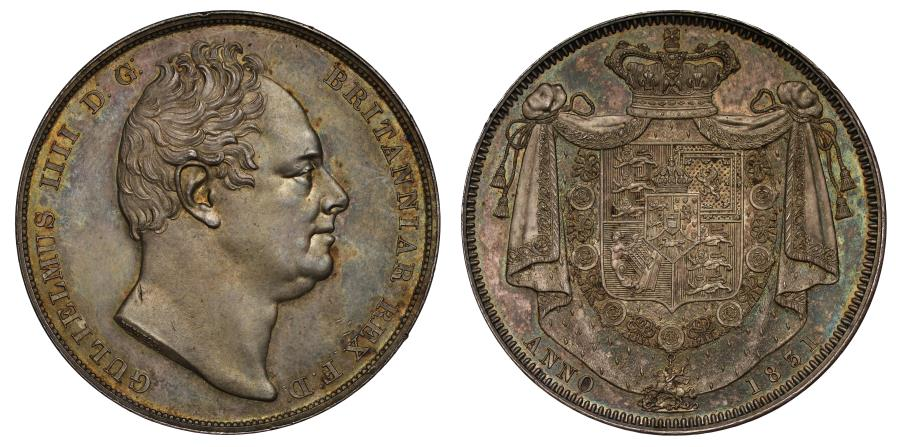 World Coins - William IV 1831 Proof Crown