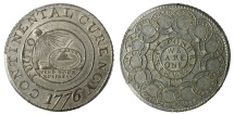 Us Coins - Continental Dollar, 1776, MS63