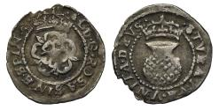 World Coins - Scotland, Charles I Two Shillings, first coinage