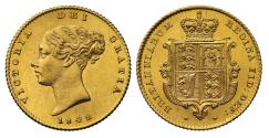 World Coins - Victoria 1842 Half-Sovereign