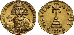 Ancient Coins - Anastasius II Artemius gold Solidus, Constantinople
