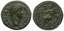 Ancient Coins - Nero, AE Semis