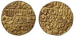 Ancient Coins - Burji Mamaluks, Barquq, second reign, Gold Dinar, AH798.